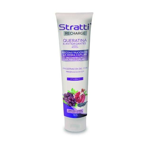 stratti Recharge Keratin und Antioxidantien–Serum Wiederaufbau und Erhaltung der Farbe–150ml