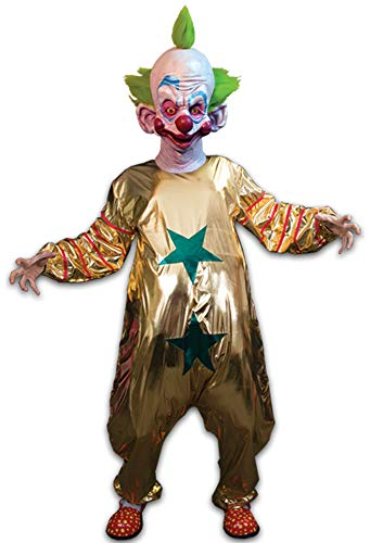 Shorty Kostüm Killer-Klowns aus dem Weltraum - Anzug OHNE Maske (Killer Klown Kostüm)