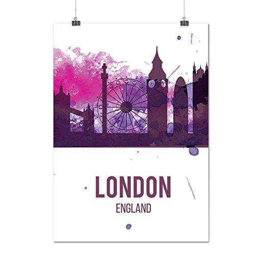 purple-city-urban-london-uk-england-matte-glossy-poster-a3-42cm-x-30cm-wellcoda