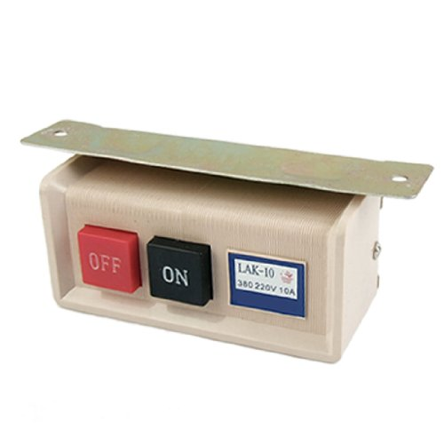 Preisvergleich Produktbild Push Button On/Off Schalter für Industrie Nähmaschine