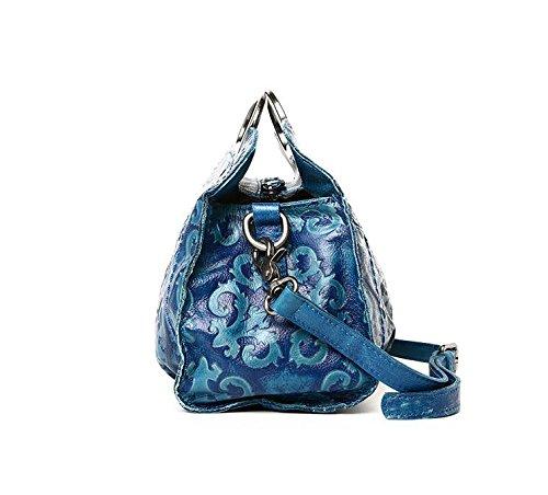 DJB/Nationale Wind/Classic/Retro/Fashion Leder/Handtasche/Frauen Hand/Sling/Der/Tasche Blau