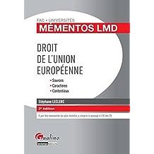 Mémentos LMD Droit de l'union européenne, 3ème édition
