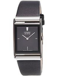 Citizen Eco-Drive Analog Black Dial Men's Watch - BL6005-01E