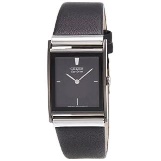 Citizen Eco-Drive Analog Black Dial Men's Watch-BL6005-01E