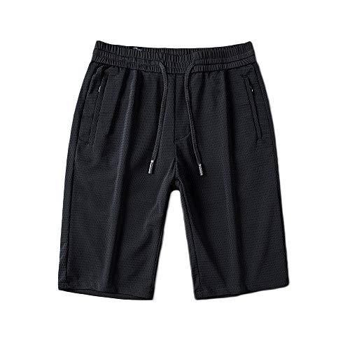 Beautisun 2019 Sommer Herren Shorts hohe elastische Ice Silk Jogginghose Herren Five Pants Herren Pants elastische Taille Hose Herren