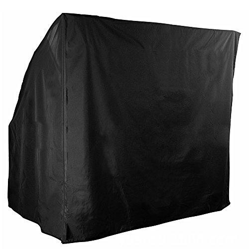 Enjoygoeu Schutzhülle Hollwwoodschaukel Abdeckung 220 x 145 x 170cm Wasserdicht 210D Oxford Schaukelstuhl Schaukel Abdeckhaube Gartenmöbel