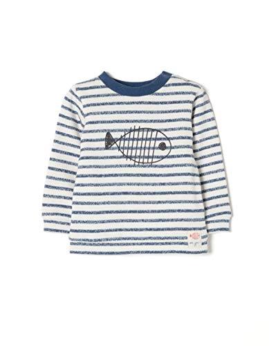 Zippy ZIPPY Baby-Jungen Znb0203_455_1 Kapuzenpullover Blau (True Navy 318) 54 (Herstellergröße: 0/1M)