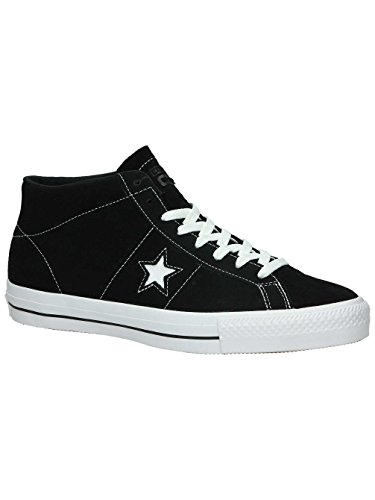 Converse - Chaussures Skateshoes Homme One Star Pro Suede - Taille:one Size Noir WHITE Noir