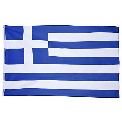 sungpunet Polyester Griechenland Flagge 3'x 5' Griechischer Flaggen 90x 150cm Banner 3x 5ft