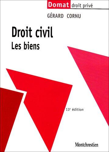 Droit civil : Les biens