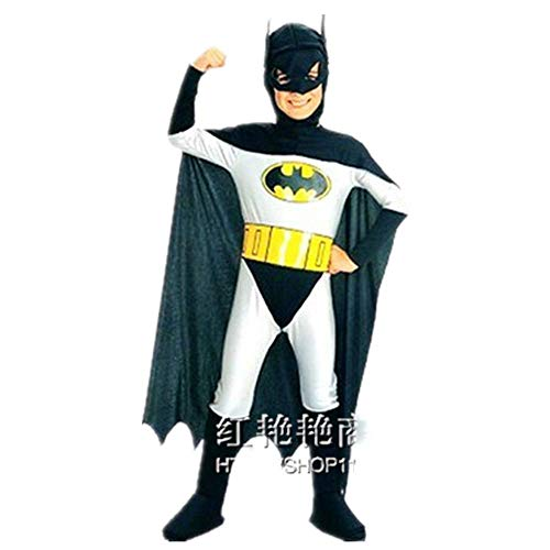 Eltern Batman's Kostüm - Unbekannt Batman Kinder männliche Performance Kleidung Eltern-Kind-Familie Halloween COS Kleidung Campus Performance Drama Rollenspiel