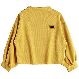 DIKEWANG Ladies Plain Girls Top Womens Vintage Best Artic Print Sweatshirt Pullover Sweaters Long Sleeve Jumper Coat Jacket