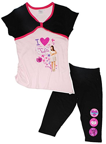 2-tlg-set-t-shirt-kurze-3-4-leggins-disney-violetta-grosse-3-jahre-gr-104-fur-madchen-kinder-100-bau