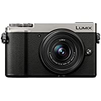 PANASONIC DC-GX9KEB-S 20.3 MP Lumix G Compact System Camera with a 12-32mm Lens - Silver