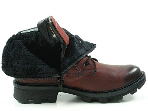 Josef Seibel 69503-VL784 Marylin 03 Damen Stiefeletten Biker Boots Rot