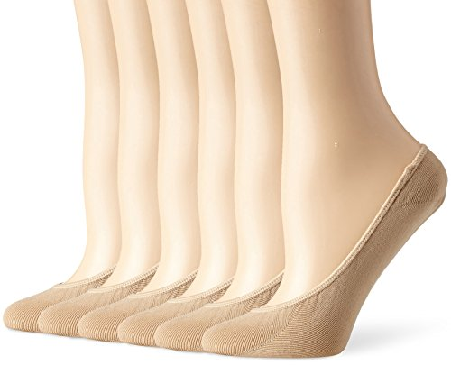 naturalizer-womens-microfiber-seamless-shoe-liner-6-pack-nude-one-size