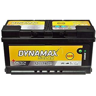 AGM Solarbatterie USV 140Ah Dynamax Wartungsfrei Notstrom statt 150Ah 130Ah GEL
