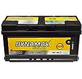 AGM Solar Batería SAI 140Ah Dyna Max Mantenimiento libre corriente de emergencia en lugar de 150Ah 130Ah Gel