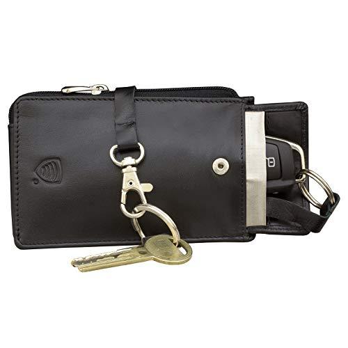 Koruma KFZ Keyless Schlüssel Signal Blocker Case Schwarz - Keyless go Schutz Autoschlüssel - Keyless Entry FOB Guard Signal blockieren Tasche - autoschlüssel hülle - Datenschutz Sicherheit -