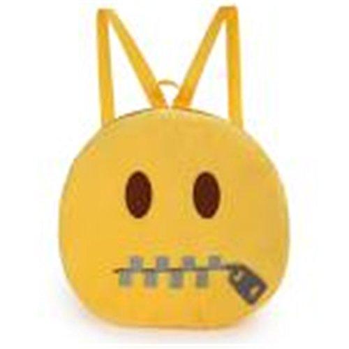 Tasche Bags Loveso Damen Mode Niedlich Gelb Emoji Minions Flanell Polyester Platz Handtasche Beiläufige Tasche Schultertasche (E5) (Tasche, Flanell)