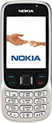 Nokia 6303i Handy (Kamera mit 3,2 MP, MP3, Bluetooth) classic steel