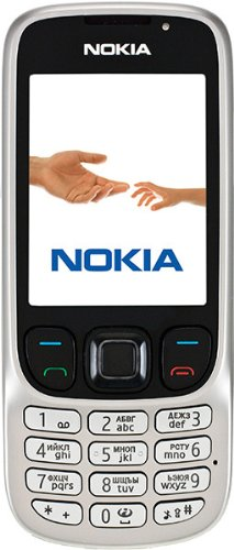 Nokia 6303i Handy (Kamera mit 3,2 MP, MP3, Bluetooth) classic steel Nokia Mp3