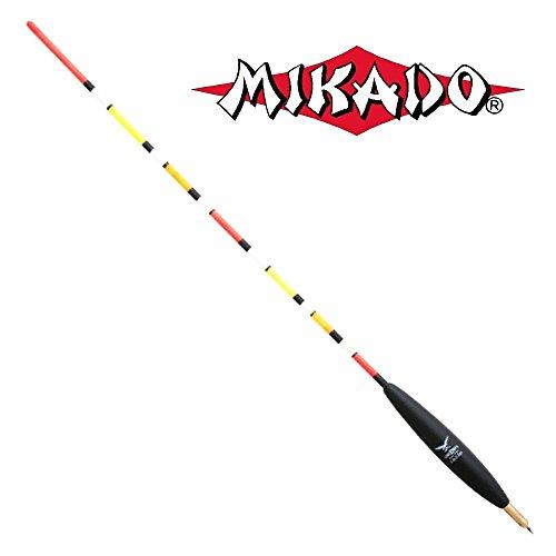 'MIKADO' Multicolor Waggler Laufpose vorbebleit verschiedene Größen erhältlich (Tragkraft 2,0g+1,0g)