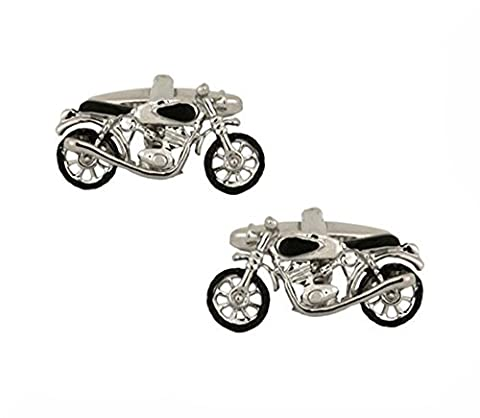 Motor Bike Cufflinks. Premium Quality Cufflinks from the Dalaco Novelty