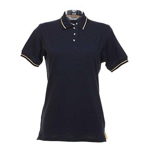 Kustom KitDamen T-Shirt Mehrfarbig - Navy/Yellow