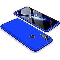 Carcasa Huawei P20 Lite / Huawei Nova 3e ,Qissy® 3 in1 Todo incluido Anti-Scratch Slim Fit Dactilares Protectora Suave Protective Case Cover Skin para Huawei P20 Lite / Huawei Nova 3e