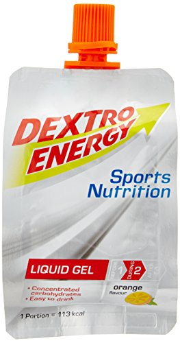 Dextro Energy Sports Nutrition Liquid Gel Orange Flavour, 6er Pack (6 x 60 ml)