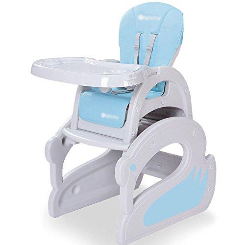 Brisk- Booster De Siège De Conversion Convertible De Bureau De Bébé De Chaise Haute De 3 dans 1 (Couleur : Swan Section (Blue))