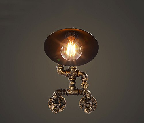 Hines Wandleuchte Edison Industrial Korridor Balkon Keller Amerikanisches Restaurant Bar Bügeleisen Klempner Wand Lampe Bronze -