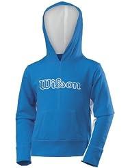 Wilson girls new knit sweat à capuche bleu