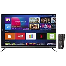 Daiwa 124 cm (49 Inches) 4K UHD Smart LED TV D50QUHD-M10 (Black) (2018 model)