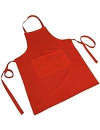 MISEMIYA - Delantal Hombre Mujer Delantal Cocinero Chef Camarero FRUTERIA Limpieza HOGAR SUMILLER Maitre DE VINOS