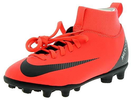 NIKE - JR Superfly 6 Club CR7 Fgmg - AJ3115600 - Farbe: Rot - Größe: 38.5 (Fußball-schuhe Für Kinder, Nike, Größe 4)
