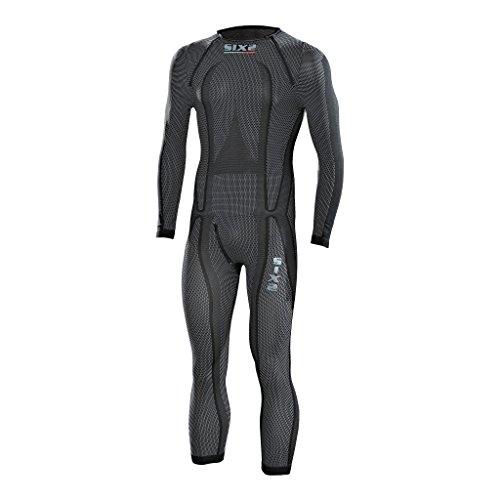 Preisvergleich Produktbild SIXS Carbon Funktions-Unterbekleidung Overall schwarz XL - Motorrad Unterbekleidung