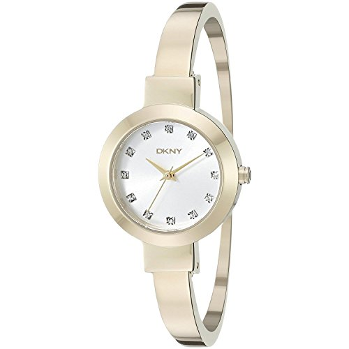 DKNY (DNKY5) Women's Quartz Watch with Gold Dial Analogue Display and Gold Stainless Steel Bracelet NY2410