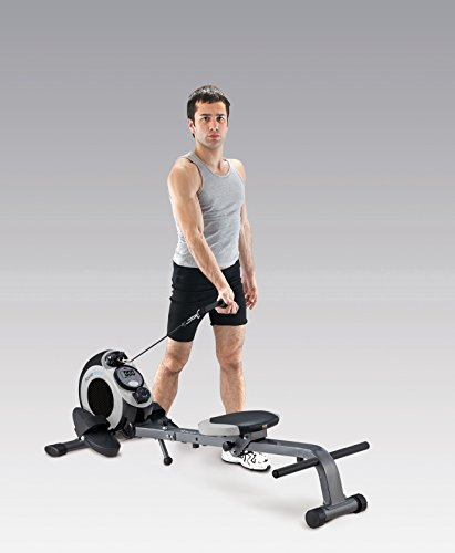 Body Sculpture BR3175 2-in-1 Magnetic Rower 'N' Gym