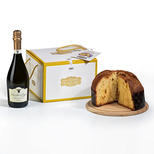 Hay Hampers Limoncello Cream Italian Panettone & Prosecco - FREE UK Delivery