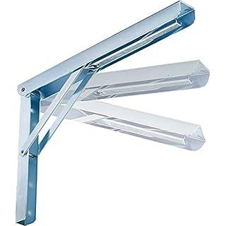 Shelf Holder 3 Sizes. P.KG.200 Acc.ZINC.cm.40 4 pcs