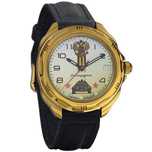 Vostok Komandirskie Military Russian Mechanical Mens Wrist Watch 2414A/219943