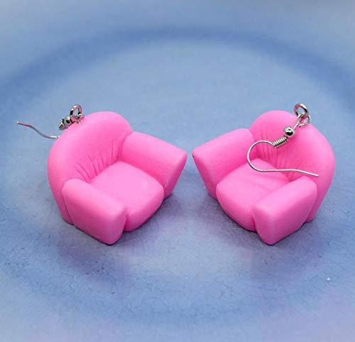 EFGK Retro Böhmische Ethnischen Stil Elegant Ohrringelustige Simulierte Möbel Bunte Sofa Ohrringe Damenmode Kreative Persönlichkeit Handgemachten Schmuck Geschenke