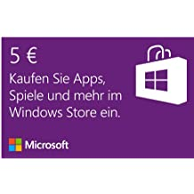 Microsoft Windows Store 5 EUR Guthaben [Download]