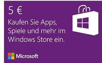 Microsoft Windows Store 5 EUR Guthaben [Download]