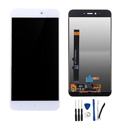 SOMEFUN Completa Pantalla Táctil LCD de Digitalización Asamblea Pantalla de Recambio para Xiaomi Redmi Note 5A (2GB RAM)/Redmi Y1 Lite Blanco
