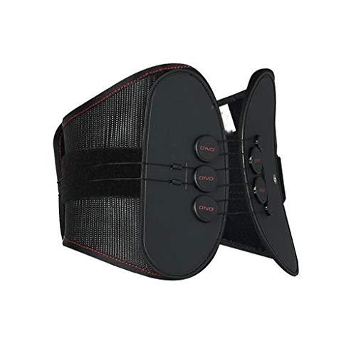 Schutzgürtel Black Belt Full Elastic Breathable Pulley Typ Unterstützung Feste Brackets Intervertebral Disc Protrusion Strain MUMUJIN (größe : M) -