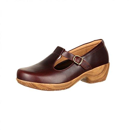 Fb Fashion Boots 4eursole Rkh229 M Comfort 4ever Donna Mogano / Cinturino / Damenschuhe Braun Mogano (weite M)