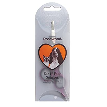 Rosewood Soft Protection Salon Grooming Ear/ Face Scissors 2